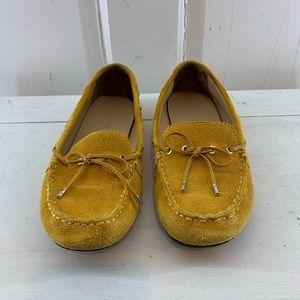 Talbots Mustard Loafers 7.5